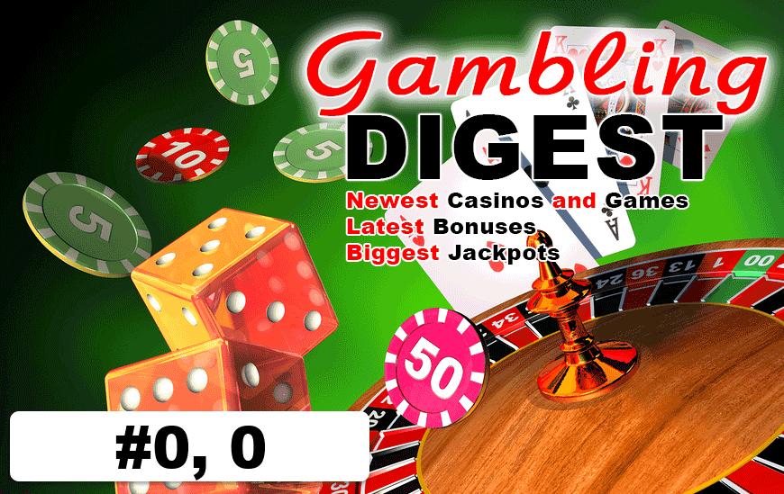Gambling digest valley view casino bingo