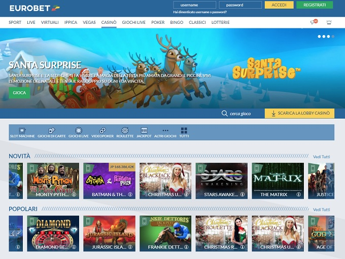 Eurobet.it Casino Review
