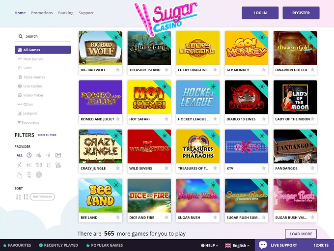 sugar land online casino