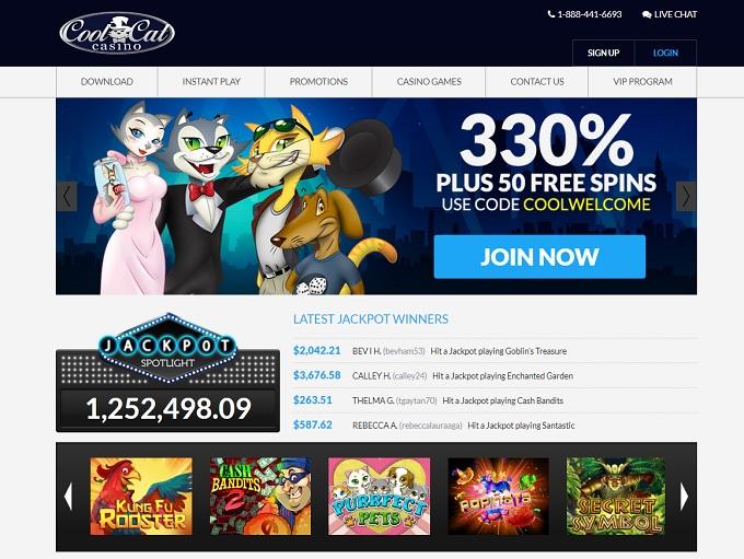 Cool Cat Casino Games