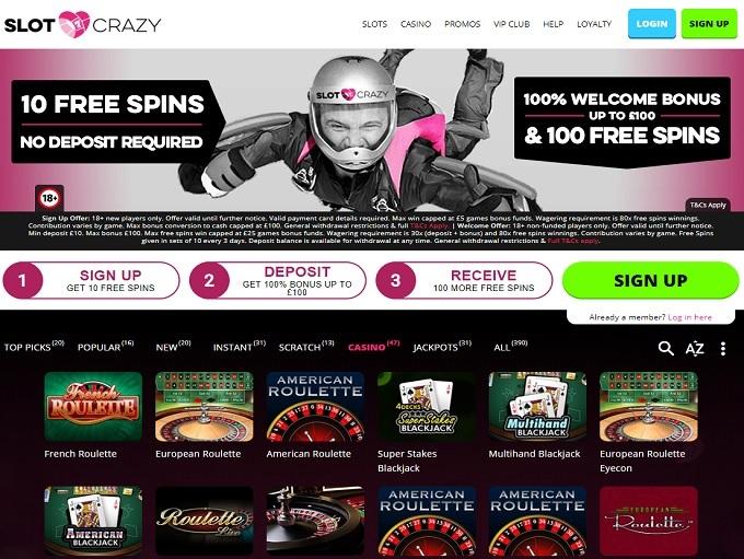 50 free spins casilando