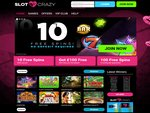 Slot Crazy Home Page