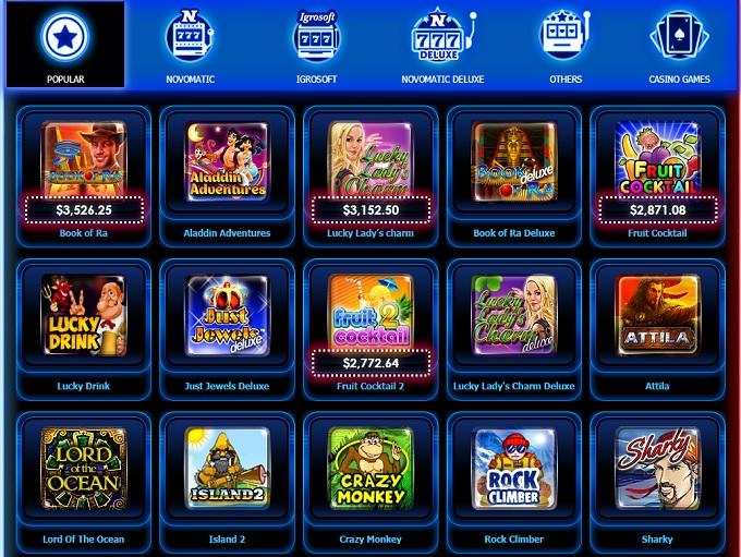 Vulkan Casino - Play best casino games