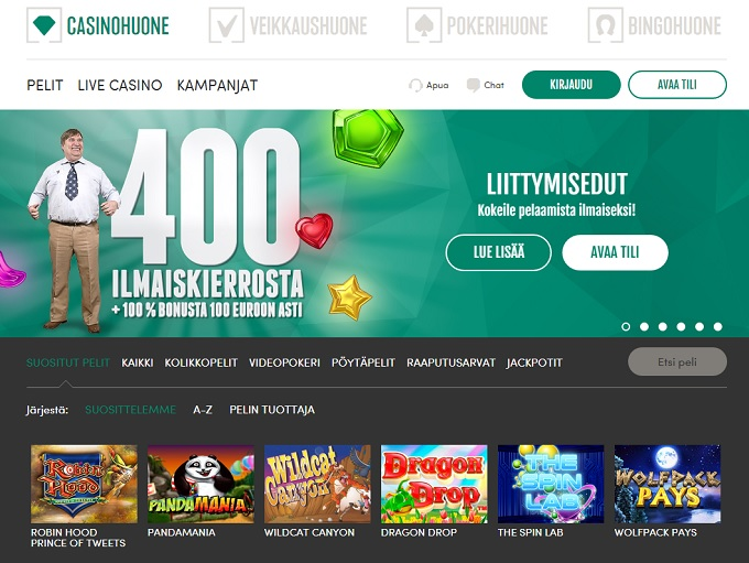 Casinohuone Casino Review