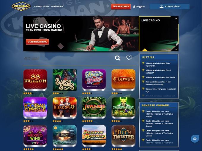 Sverigekronan Casino
