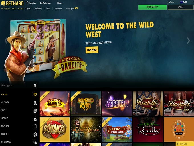 BetHard Casino Review – Online Casino Reviews