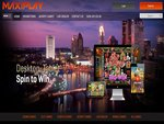MaxiPlay Casino Home Page
