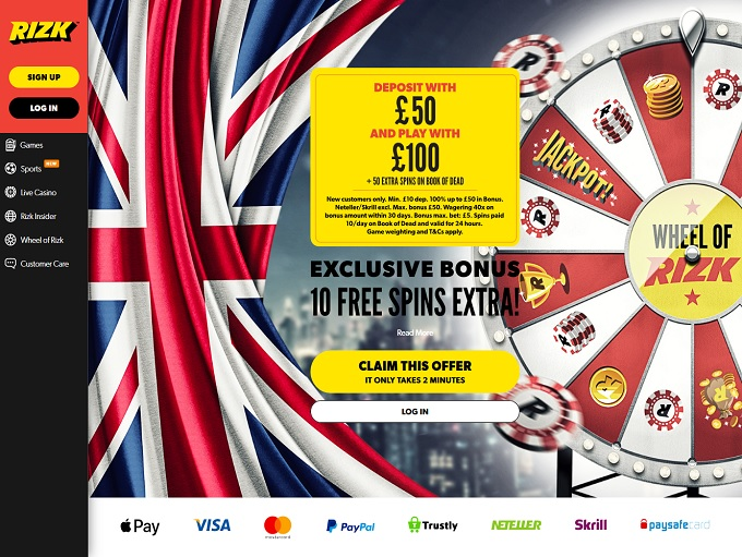 Best online casino deposit bonus
