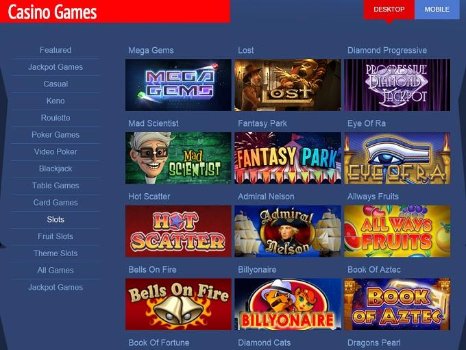 online casino games reviews free