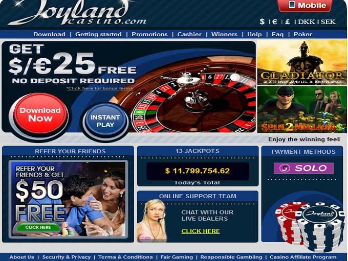 Joyland Casino Download