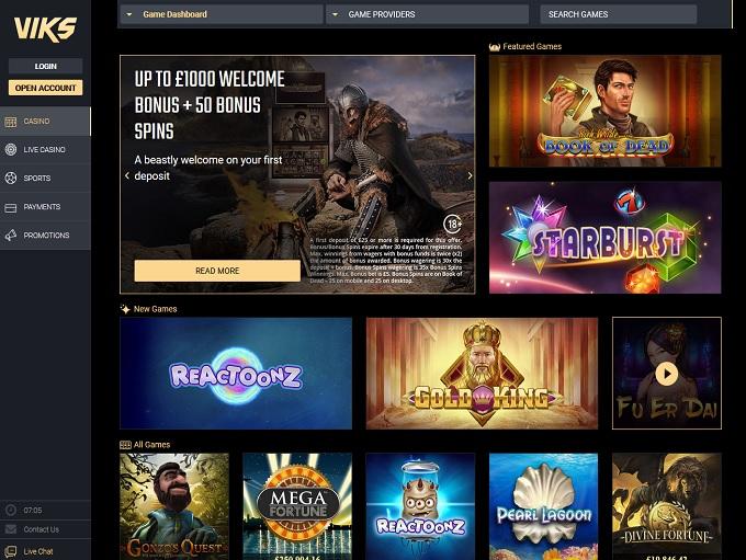 viks online casino