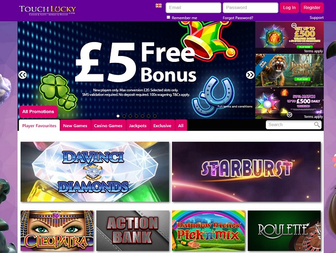 online casino websites touch spiele