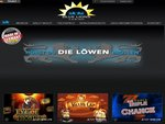 BlueLions Casino Home Page