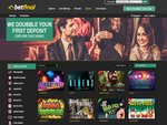 Betfinal Casino Home Page