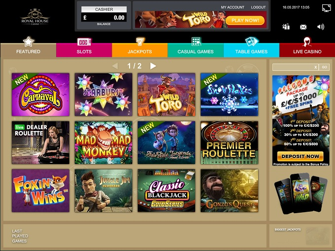 rent casino royale online casino games
