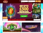 MobiReels Casino Home Page
