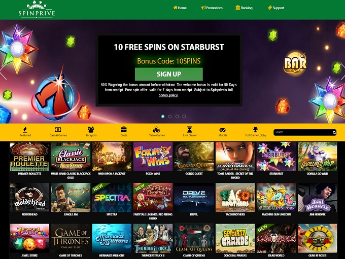 test online casino free spin games