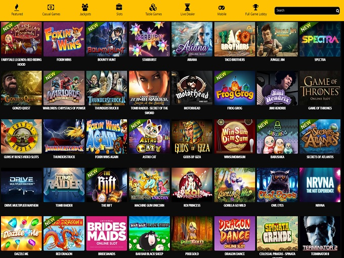 online casino games reviews free spin games