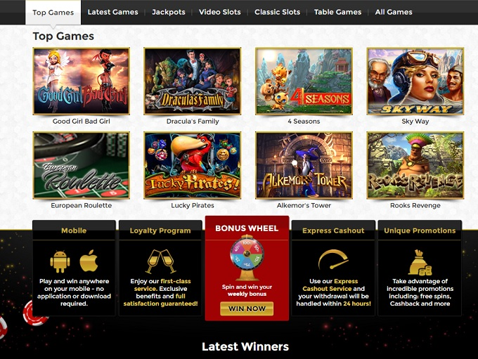 unique online casino games