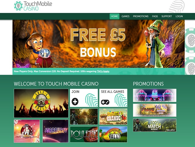 free online mobile casino touch spiele