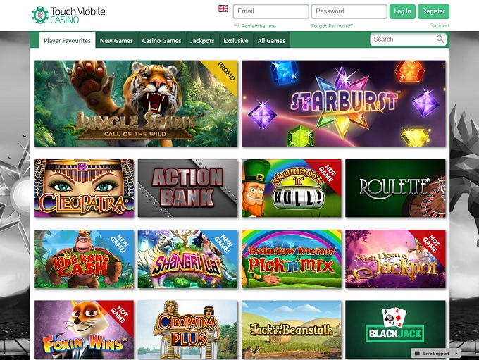 casino mobile online touch spiele