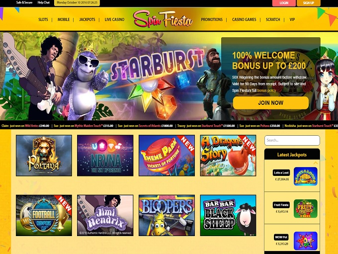online casino de free spin game