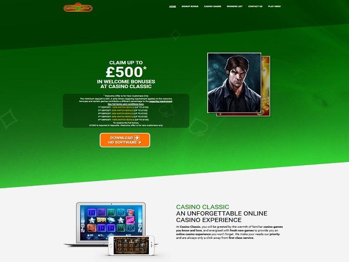casino classic online casino