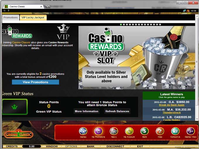 internet casino online classic casino