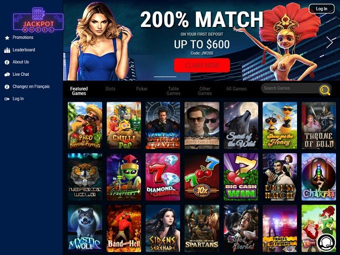 Jackpot Wheel Casino Unveils New Look Website