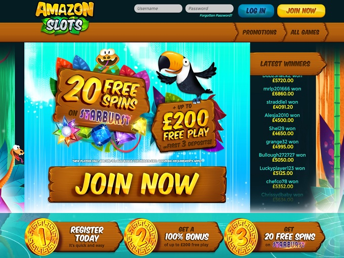 online casino amazon