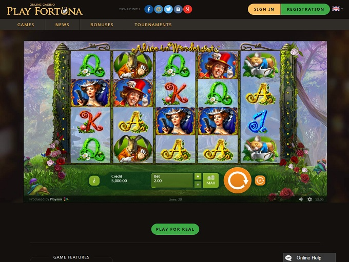 Fortuna 18 – Online Casino Game Reviews