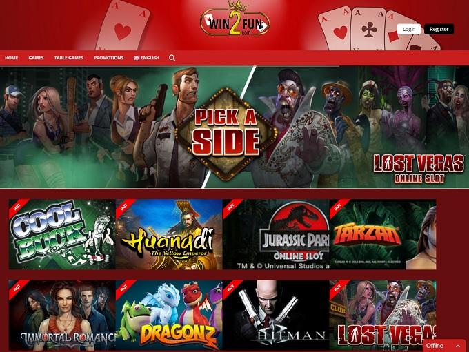 Win2Fun Casino Online Casino Review