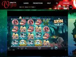 Fruity Vegas Casino Home Page