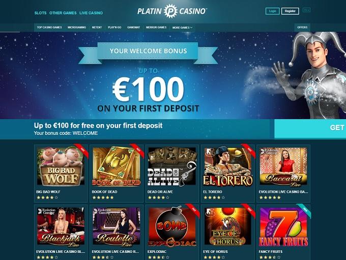 platin online casino