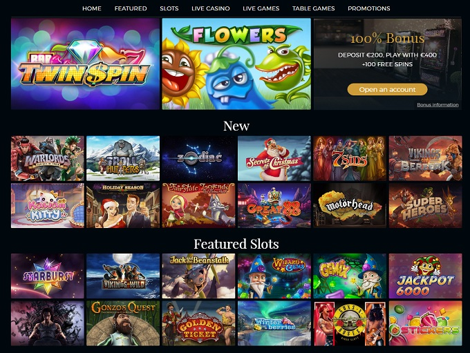 online live casino gaming