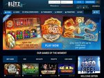 Blitz Casino Home Page