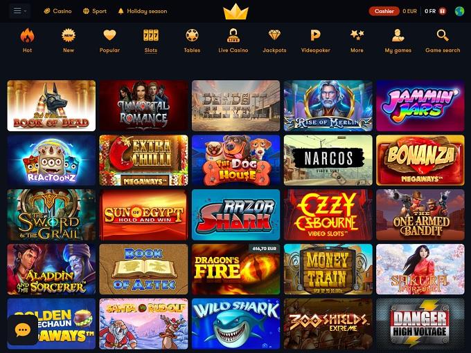 обзор онлайн казино Супер Слотс