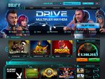 Drift Casino Home Page