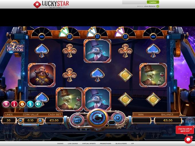 Lucky Star Casino Online