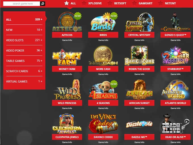 lucky star online casino