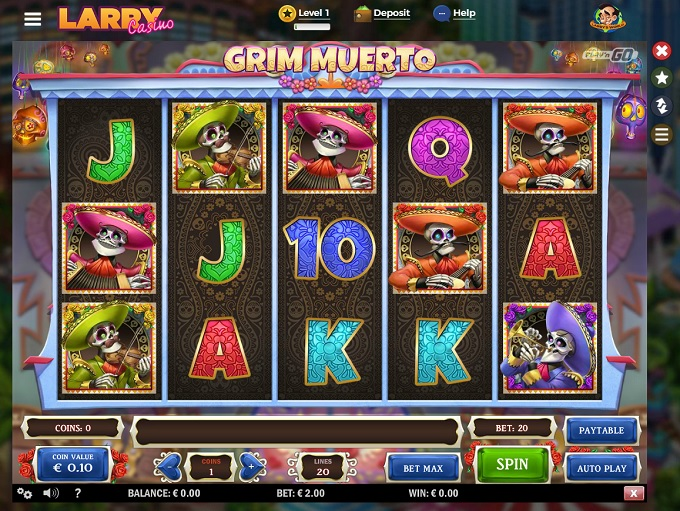 larry casino no deposit