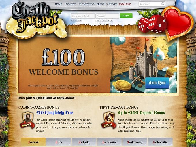 castle jackpot online casino