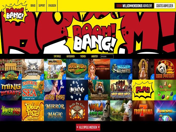 boombang casino bonus