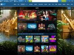 1XBET Casino Home Page