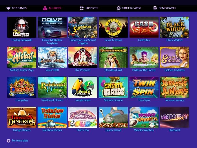 online vegas casino free spin games