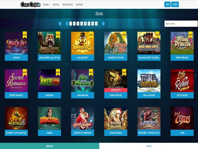 Betrivers online casino
