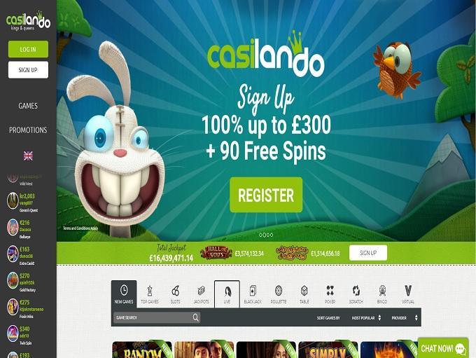 Casilando Online Casino
