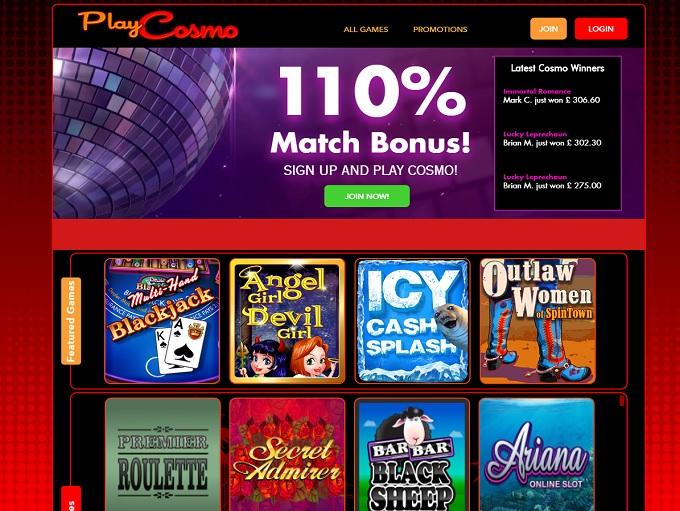 online casino cosmo