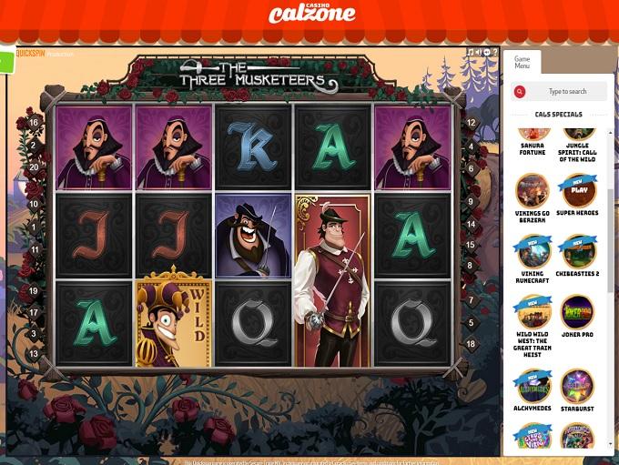 Calzone Online Casino