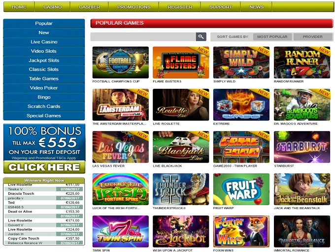 slot game online  casinos